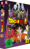 Dragon Ball Super - Vol. 3. Arc: Universum 6 -  DVD