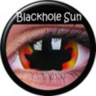 ColourVUE Mini-Sclera Blackhole Sun Kontaktlinsen
