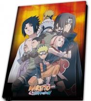 """Naruto Shippuden A5 Notebook """"Group"""""""