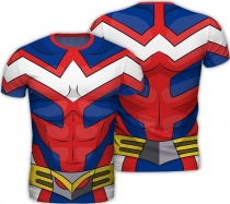 """My Hero Academia T-Shirt Cosplay """"All Might"""" (L)"""