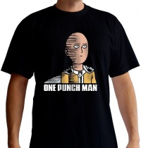 One Punch Man Saitama Fun T-Shirt (S)