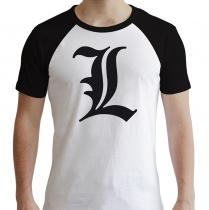 Deathnote L Raglan Premium T-Shirt
