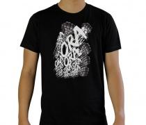 JOJO'S BIZARRE ADVENTURE Ora T-Shirt Black