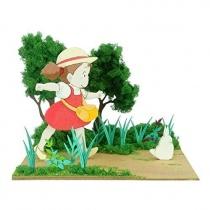 Studio Ghibli Mini - My Neighbor Totoro Mei & White Totoro Paper Kit
