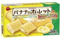 Bourbon Banana Cream Soft Cake
