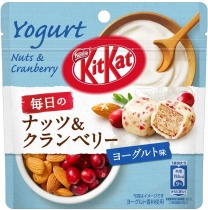 KitKat Bite Everyday Nuts & Cranberry Yoghurt Chocolate