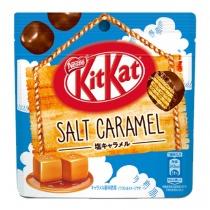 KitKat Salt Caramel Bites Pouch Pack Limited Edition