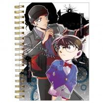 Detective Conan Ring Note Book Black