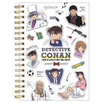 Detective Conan Ring Note Book White