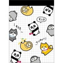 CRUX Animals Mini Memo Pad