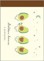 CRUX Kawaii Avocado Mini Memo Pad