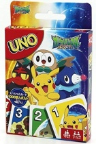 Pokemon Sun and Moon UNO