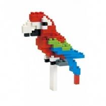 nanoblock Mini Series Red-and-green Macaw