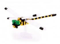 nanoblock Mini Series Golden-Ringed Dragonfly
