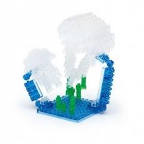nanoblock Mini Series Moon Jellyfish