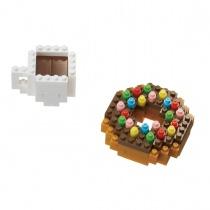 nanoblock Mini Series Donut and Coffee