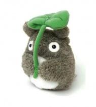 Totoro with Leaf Funwari Bean Bag Plush