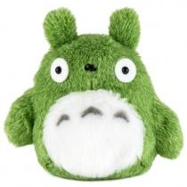 Totoro Green Totoro Fluffy Bean Bag Plush