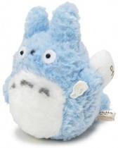 Light Blue Totoro Fluffy Plush Medium