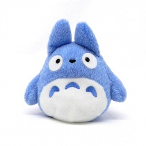 Totoro Blue Totoro Funwari Bean Bag Plush (M)