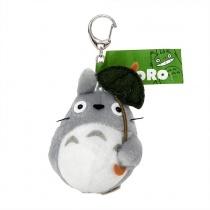 Totoro Umbrella Funwari Plush Keychain