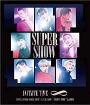 "SUPER JUNIOR - WORLD TOUR ""SUPER SHOW 8: INFINITE TIME"" in JAPAN Blu-ray"