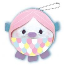 Yamani Squeeze X Marshmallow Plush Mugyu-Maro Toys Amabie Pink