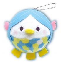 Yamani Squeeze X Marshmallow Plush Mugyu-Maro Toys Amabie Blue