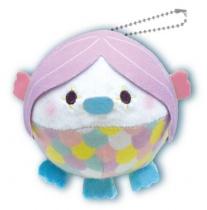Yamani Squeeze X Marshmallow Plush Mugyu-Maro Toys Amabie Purple
