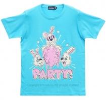 LISTEN FLAVOR Ichigo Party Shirt (Blue)