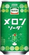 Fukkoku-do Melon Soda