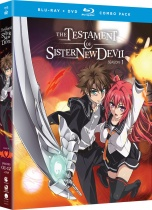 The Testament of Sister New Devil Season 1 + OVA Blu-Ray/DVD