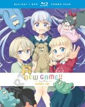 NEW GAME!! Season 2 Blu-ray/DVD