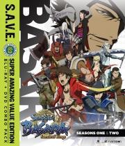 Sengoku Basara Samurai Kings Season 1-2 + OVA S.A.V.E. Blu-ray