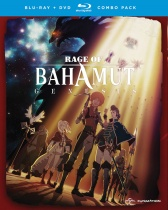 Rage of Bahamut Season 1 Blu-ray/DVD
