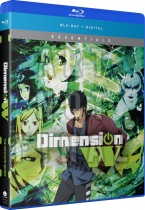 Dimension W Complete Series Essentials Blu-ray