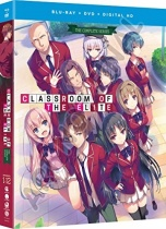 Classroom of the Elite Blu-ray/DVD