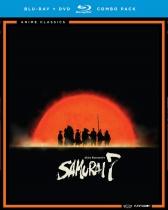 Samurai 7 Complete Series Blu-ray/DVD