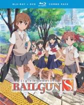 A Certain Scientific Railgun S Collection Blu-ray/DVD