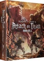 Attack on Titan Season 3 Part 2 Blu-ray/DVD LTD