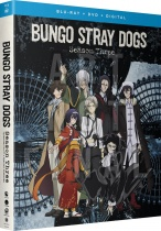 Bungo Stray Dogs Season 3 Blu-ray/DVD