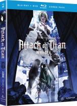 Attack on Titan Part 2 Blu-ray/DVD