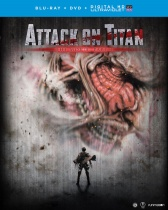 Attack on Titan The Movie Part 1 Blu-ray/DVD