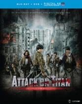 Attack on Titan The Movie Part 2 Blu-ray/DVD