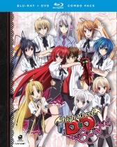 High School DxD BorN (Season 3) Blu-ray/DVD