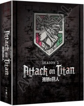 Attack on Titan Season 2 Blu-Ray/DVD LTD