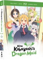 Miss Kobayashi's Dragon Maid Complete Series Blu-ray/DVD