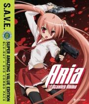 Aria the Scarlet Ammo Blu-ray/DVD S.A.V.E.