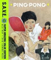 Ping Pong Blu-ray/DVD S.A.V.E