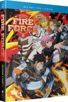 Fire Force Season 2 Part 1 Blu-ray/DVD